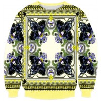 CAMOU PANTHER SWAG - LONG SLEEVE 3D STREET WEAR SWEATER