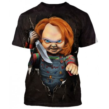 CHUCKY THE KILLER CHILDS PLAY - 3D STREET WEAR TSHIRT - WeSellAnything.Co
