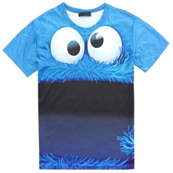 COOKIE MONSTER - 3D STREET WEAR TSHIRT - WeSellAnything.Co