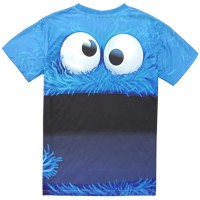 COOKIE MONSTER - 3D STREET WEAR TSHIRT
