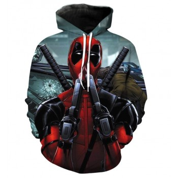 DEADPOOL - 3D HOODIE - WeSellAnything.Co