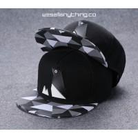 DIAMOND CUT PENGUIN SNAPBACK CAP