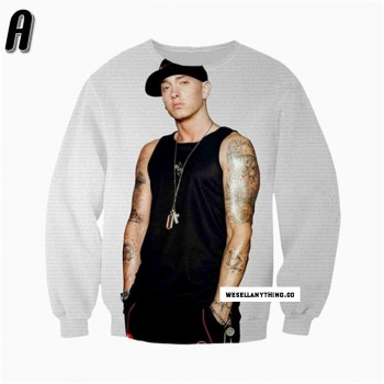 EMINEM SWEATER MARSHALL MATHERS - LONG SLEEVE 3D STREET WEAR SWEATER - WeSellAnything.Co