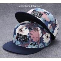 FLOWER POWER PRINT SNAPBACK CAP
