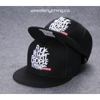 FUCK WHAT PEOPLE THINK SNAPBACK CAP