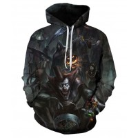 HALLOWEEN CREEPY CLOWN - 3D HOODIE