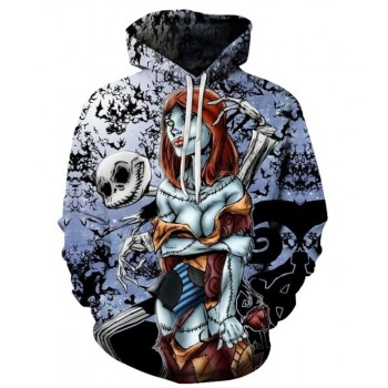 HALLOWEEN SEXY CORPSE - 3D HOODIE - WeSellAnything.Co