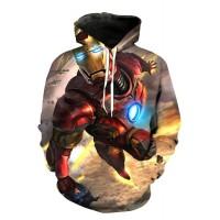 IRON MAN - 3D STREET WEAR HOODIE