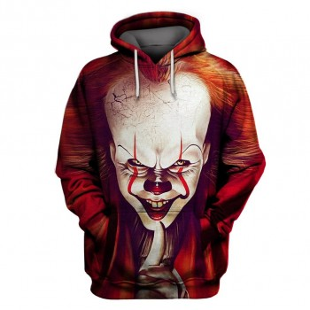 IT PENNYWISE CLOWN - 3D HOODIE - WeSellAnything.Co