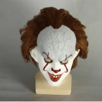 IT PENNYWISE THE DANCING CLOWN HALLOWEEN - 3D LATEX MASK