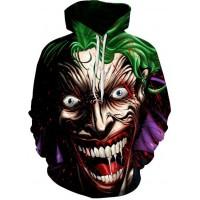 JOKER CREEPY LAUGH - 3D STREET WEAR HOODIE
