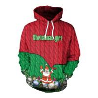 MERRY CHRISTMAS - 3D HOODIE