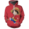 ONE PIECE MIX SERIES - 3D STREET WEAR HOODIE - WeSellAnything.Co