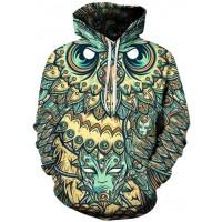 OVO OWL STARE - 3D STREET WEAR HOODIE