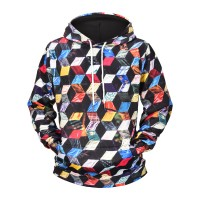 PSYCHEDELIC CUBES - 3D HOODIE