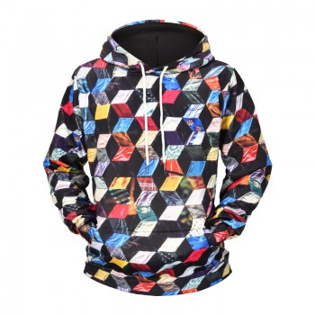 PSYCHEDELIC CUBES - 3D HOODIE - WeSellAnything.Co