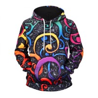 PSYCHEDELIC TWIRL - 3D HOODIE