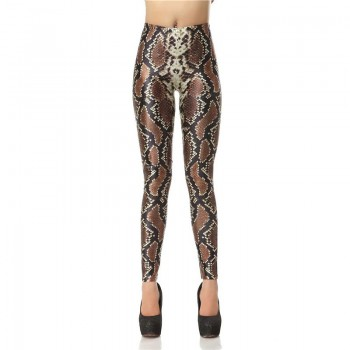 SNAKE SKIN - 3D LEGGINGS - WeSellAnything.Co