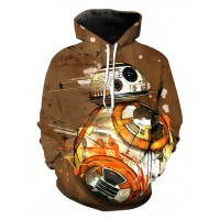 STAR WARS BB8 - 3D STREET WEAR HOODIE