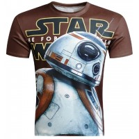 STAR WARS BB8 - 3D STREET WEAR TSHIRT