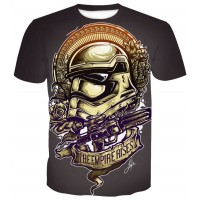 STAR WARS THE EMPIRE RISES  - 3D STREET WEAR TSHIRT