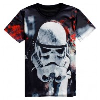 STAR WARS TROOPER SOLDIER - 3D STREET WEAR TSHIRT