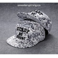 STEADY NO DOUBT WHITE CAMOU SNAPBACK CAP