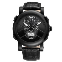 SUGAR SKULL BLING - MENS WATCH
