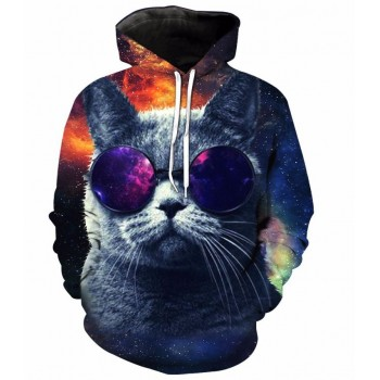 SWAG CAT - 3D HOODIE - WeSellAnything.Co