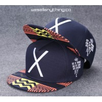 X MARKS THE SPOT TRIBAL SNAPBACK CAP