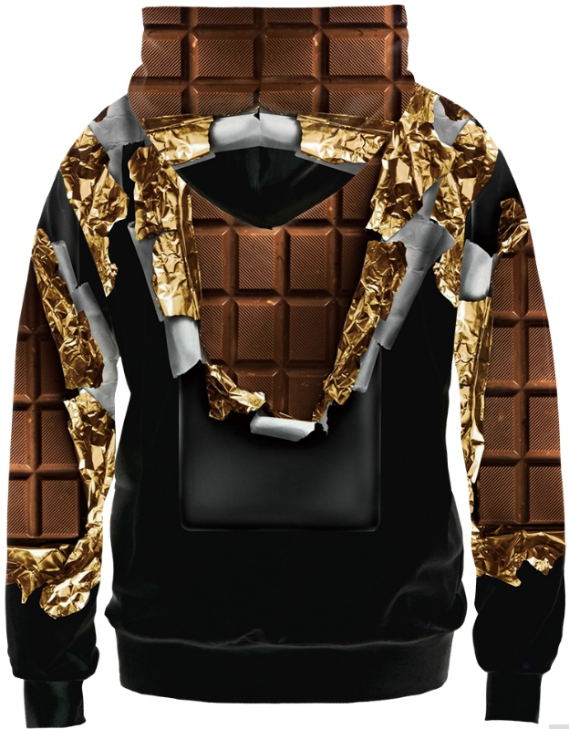 e73f11932c44 CHOCOLATE BAR SWAG - 3D STREET WEAR HOODIE - by www.wesellanything.co