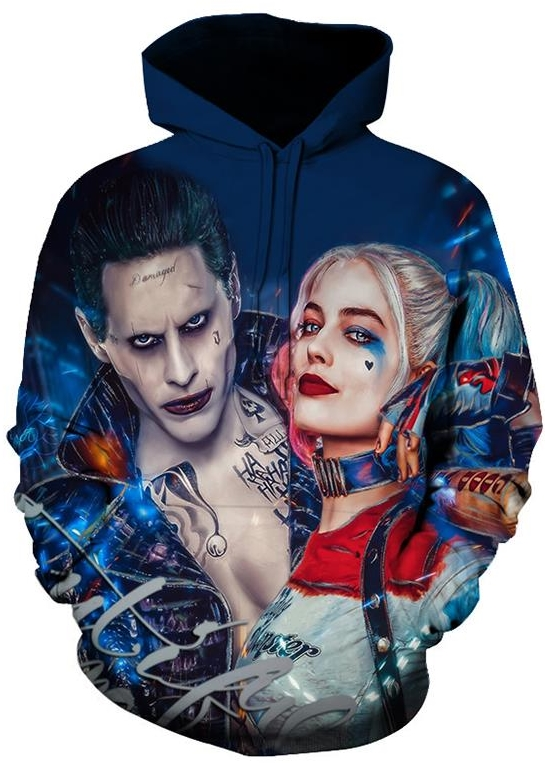 Details about  /Fashion Men Women Harley Quinn 3D Printed Casual T-shirt and Pants Tracksuit S11