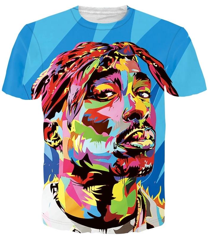 Tupac Shirt Womens