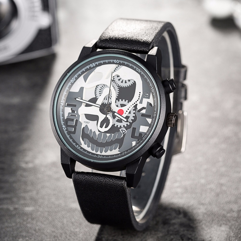 Skull Gears Mens Watch By Www Wesellanything Co