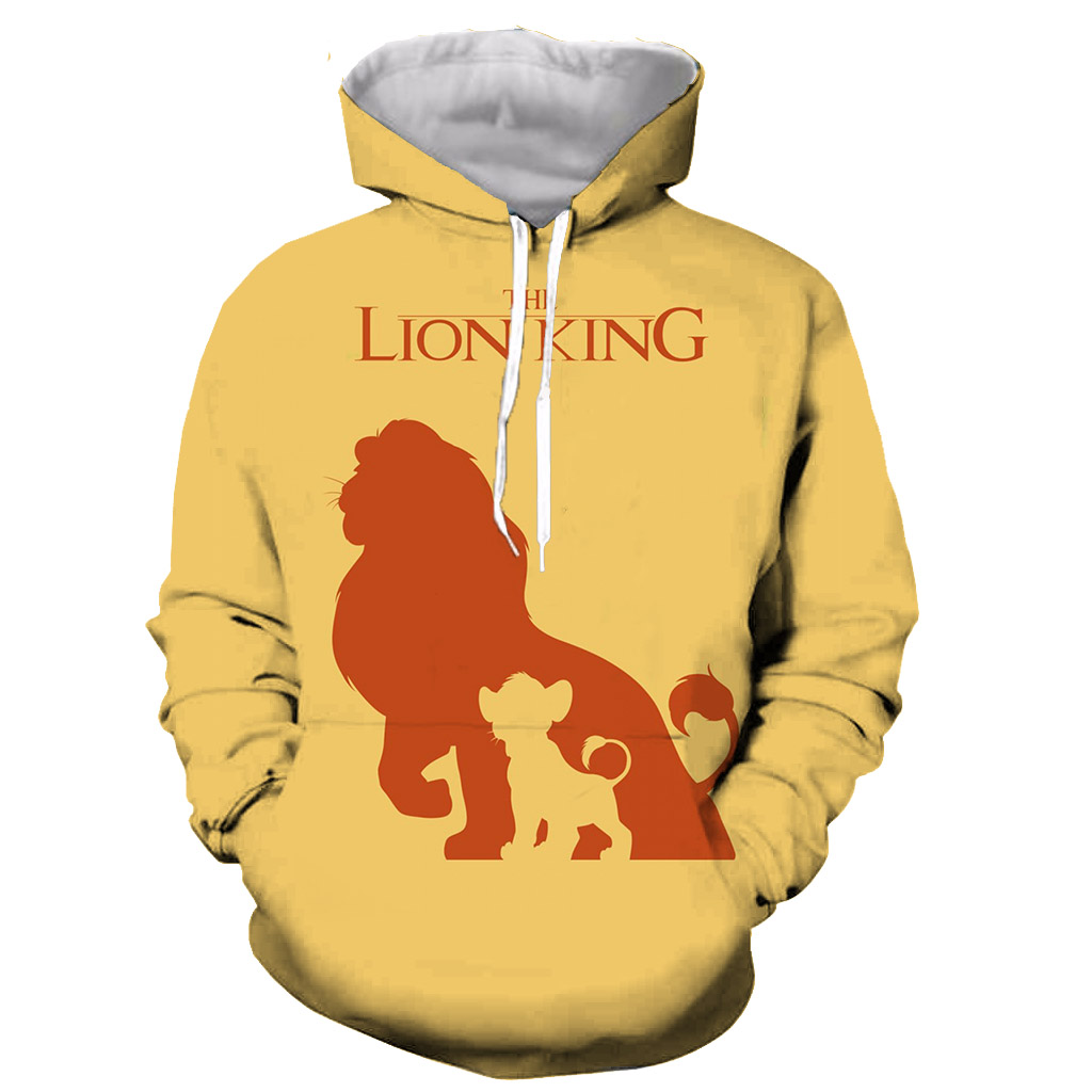 The Lion King Full Print Hoodie By Www Wesellanything Co